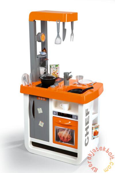 Smoby Bon Appetit játékkonyha narancs-ezüst (310803)