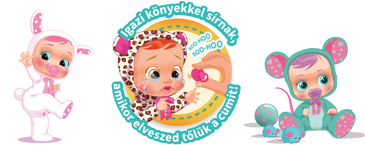 Cry babies babák
