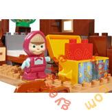 Play Big Bloxx Mása és a medve - Misa háza építőszett (57098)