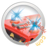 cDickie RC Sam, a tűzoltó - Turbo Jupiter távirányítós tűzoltóautó (3099612)