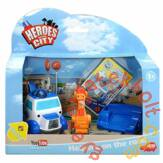 Dickie A város hősei járművek - Autómentő Benő és Robi a fúrógép (3123001)