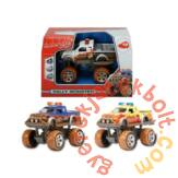 Dickie Játék Rally Monster kisautó - Sárga (3742000)