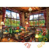 EuroGraphics 1000 db-os puzzle - Cozy Cabin, Dominic Davison (6000-5377)