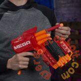 Hasbro - NERF N-Strike Mega - Tri-Break szivacslövő fegyver (E0103)