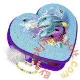 Ravensburger 54 db-os 3D Girly Girl Edition puzzle - Delfines dobozka (12118)