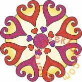 Ravensburger Jégvarázs mini mandala készítő szett (29936)