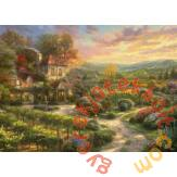 Schmidt 2000 db-os puzzle - In the Vineyards, Kinkade (59629)