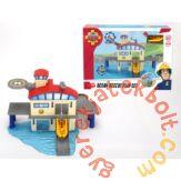 Dickie Sam, a tűzoltó - Tengeri mentőállomás játékszett (9616)