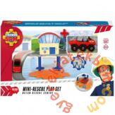 Dickie Sam, a tűzoltó - Mini vízi mentőállomás játékszett (9618)
