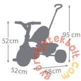 Smoby Be Move tricikli - zöld-kék (740314)