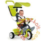 Smoby Baby Balade 2 tricikli napellenzővel - zöld (741100)