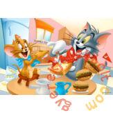 Trefl 100 db-os puzzle - Tom és Jerry - Ínycsiklandó reggeli (16196)