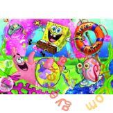 Trefl 100 db-os puzzle - Spongya Bob, Bikini fenék lakói (16300)