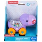Fisher-Price Poppity gurulós csörgő víziló bébijáték (BGX30-BGX29)