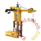 Clementoni - Tudomány és játék - Mechanikus Műhely - Daru (64313)