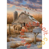 Cobble Hill 1000 db-os puzzle - Rural Route (80106)