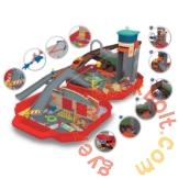 Dickie Sam, a tűzoltó - Körmöspálcás tűzoltóállomás játékszett (3095002)