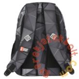 St.Right - 3D Shapes hátizsák, iskolatáska - 3 rekeszes (621888)