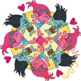 Ravensburger Trollok mandala készítő szett (29864)