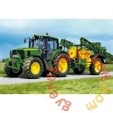 Schmidt 40 db-os puzzle - Traktor 6630 mit Feldspritze, John Deere (55625)