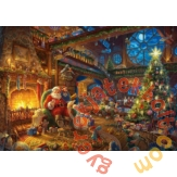 Schmidt 1000 db-os puzzle - Santa Claus and his Elves, Thomas Kinkade (59494)
