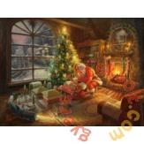 Schmidt 1000 db-os puzzle - Santa Claus is here!, Thomas Kinkade (59495)