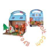 Simba Sam, a tűzoltó - Hegyimentő központ játékszett két figurával (1032)