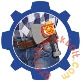 Simba Sam, a tűzoltó felszerelés - Kesztyű fejszével (2105)
