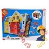 Simba Sam, a tűzoltó - Tűzoltóállomás figurával (1062)