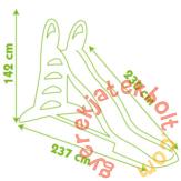 Smoby XL Kerti csúszda 230 cm (310261)