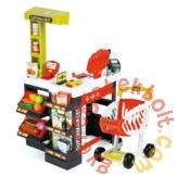 Smoby Szupermarket elektronikus pénztárgéppel - piros (350210)