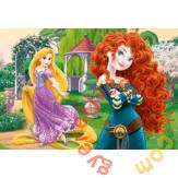 Trefl 100 db-os puzzle - Bátor hercegnők (16199)