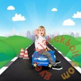 Trunki - Percy, a rendőrautó gyermek bőrönd