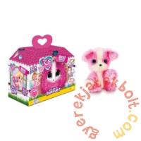 Fur Balls Real Rescue - Interaktív meglepetés plüss állatka - Pink (FUR638P)