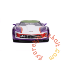 DC Comics - Joker fém autómodell figurával - 2009 Chevrolet Corvette Stingray - 20 cm (253255020)