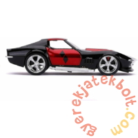 DC Comics - Harley Quinn fém autómodell - 1969 Chevrolet Corvette Stingray (253252015)