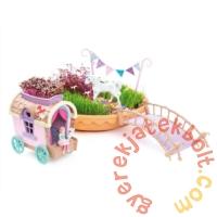 My Fairy Garden - Unikornis kert fedett szekérrel (FG301BSS)