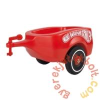 Big Bobby Car Classic utánfutó - piros (01300)