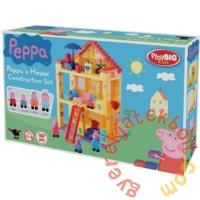 Play Big Bloxx Peppa malac - Peppa háza építőszett (57078)