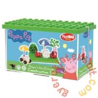 Play Big Bloxx Peppa malac alapszett -Peppa fagyizója építőszett (57102)