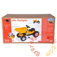 Big Jim pedálos dömper (56568)