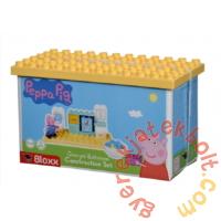 Play Big Bloxx Peppa malac alapszett - George fürdőszobája építőszett