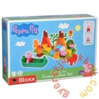 Play Big Bloxx Peppa malac - Kempingezés építőszett (57143)