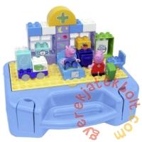 Play Big Bloxx Peppa malac - Peppa az orvosnál építőszett bőröndben (57144)