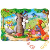 Castorland 20 db-os MAXI puzzle - Piroska és a farkas (C-02337)