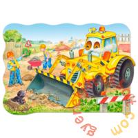 Castorland 20 db-os MAXI puzzle - Munkában a Buldózer (C-02139)