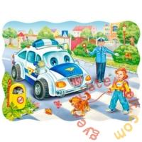 Castorland 30 db-os puzzle - Iskolába menet (B-03389)