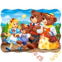 Castorland 30 db-os puzzle - Aranyfürt és a három medve (B-03716)