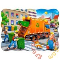 Castorland 30 db-os puzzle - A kukásautó (B-03778)