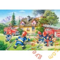 Castorland 40 db-os MAXI puzzle - Tűzoltóság (B-040025)